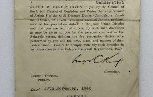 Civil Defence Duties (Compulsory Enrolment) Order, 1942