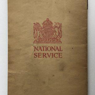 'National Service' Booklet - 1939, (back cover).  | Robin Grainger