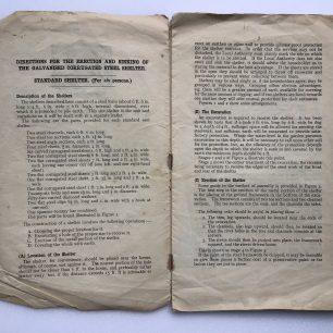 Anderson Shelter Leaflet - February, 1939 (Page 2-3)   Robin Grainger