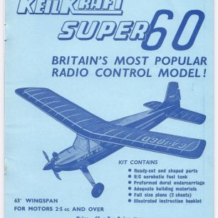 1962 World RC Aerobatic Championships Programme. Insode back cover.  | GBRCAA