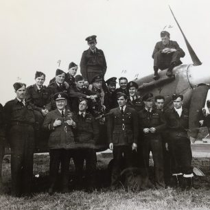 402 Squadron RCAF, during the visit of Air Marshal
