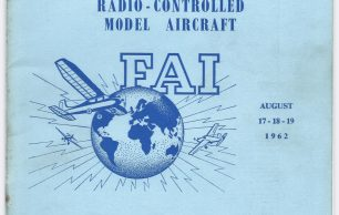 1962 World Radio-Controlled Aerobatics Championships Programme