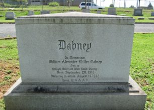 William Alexander Miller Dabney remembered in Spring Hill Cemetery, Lynchburg City, Virginia, USA.    Joan Mays (findagrave)