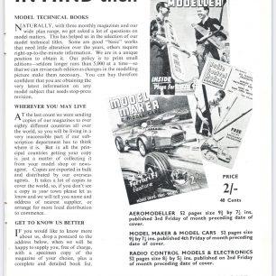 1962 World RC Aerobatic Championships Programme. Page 17. | GBRCAA