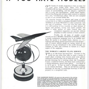 1962 World RC Aerobatic Championships Programme. Page 16.  | GBRCAA