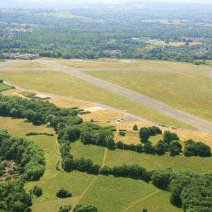 Aerial view of RAF Kenley   Alistair White